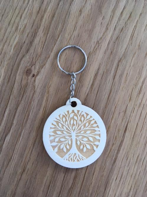 Porte-clés - Arbre de vie (foncé)