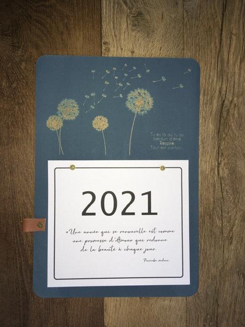 Calendrier 2021 - Pissenlit