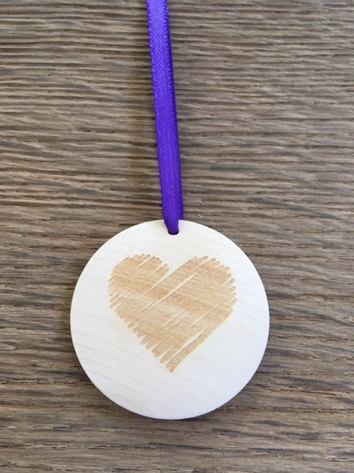 Disque diffuseur huiles essentielles - Coeur