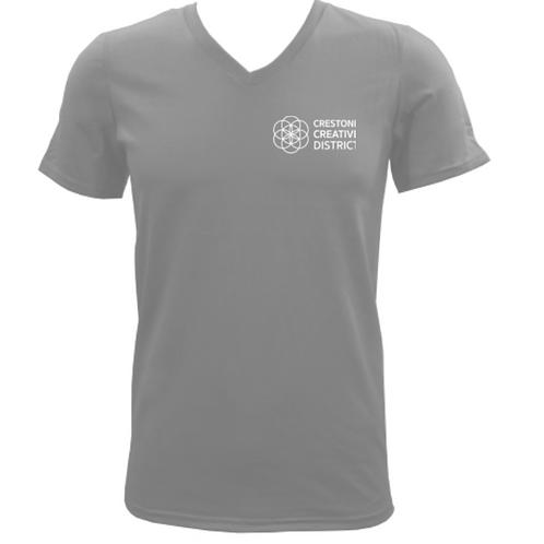CCD T-Shirt (Light-Grey V-Neck)