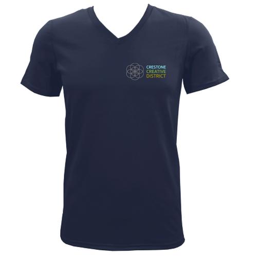 CCD T-Shirt (Navy V-Neck)