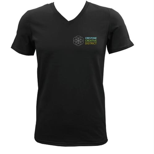 CCD T-Shirt (Black V-Neck)