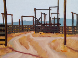 Emmy Savage Honored by Plein Air Painters of New Mexico
