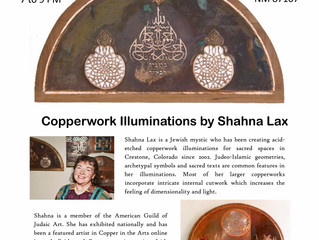 Highlighting Copperwork Illuminations by Shahna Lax