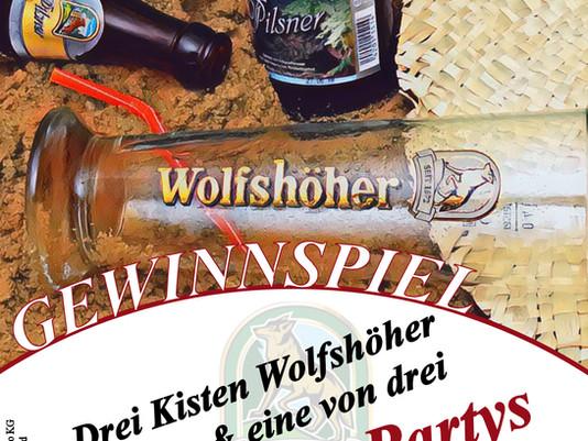 Die Wolfshöher Party-Saison startet!