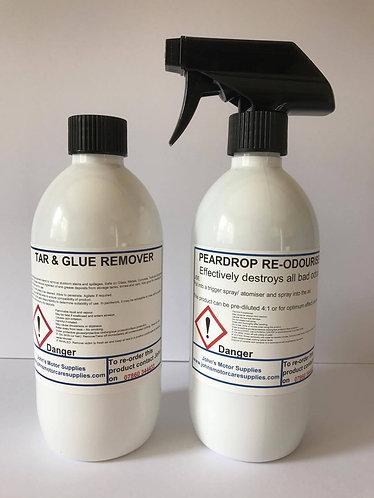 Tar and Glue Remover & Pear Drop Air Freshener 500ml