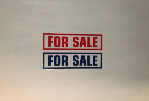 10 Self Cling Car For Sale Window Display Stickers