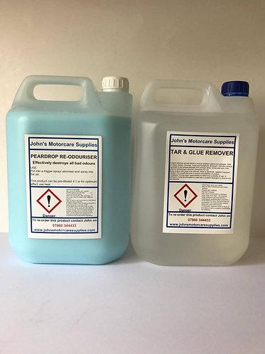 Car Air Freshener Pear Drop 5 Litres & Tar and Glue Remover 5L