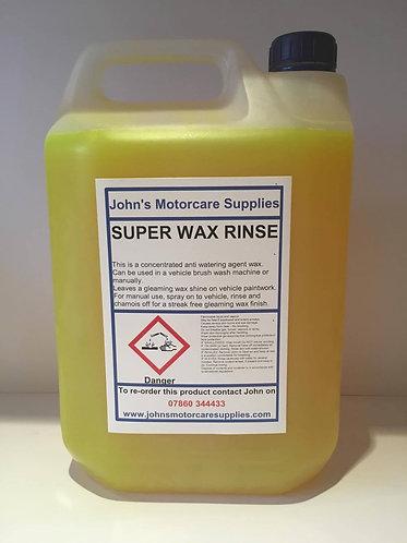 Super Wax Rinse
