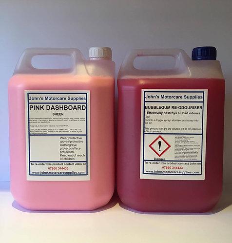 Bubblegum Air Freshener 5L & Pink Sheen 5L
