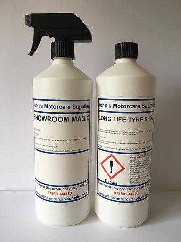 Showroom Magic Car Cleaner & Tyre Dressing