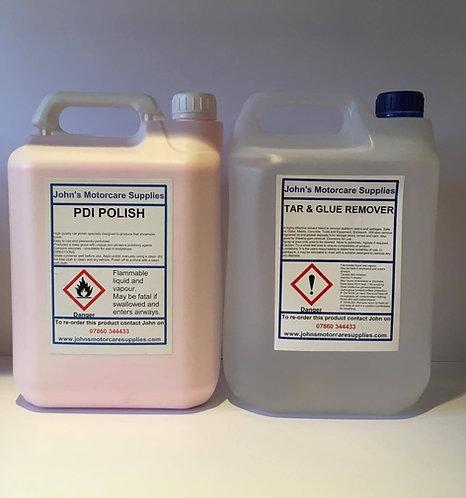 PDI Pink Polish Car Polish & Tar and Glue Remover