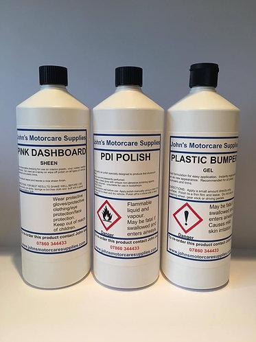 Pink Sheen & PDI Polish & Plastic Bumper Gel 1L