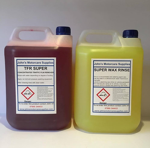 Traffic Film Remover & Super Wax Rinse