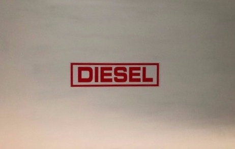 Diesel Pack Of 10 Self Cling Car Sales Window Reusable Display Stickers