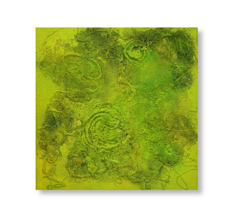 Green 122x122cm