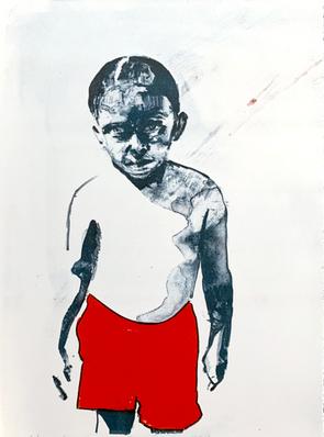 Johannes 35x40 litografi