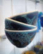 Nydelige boller laget av keramiker Anne