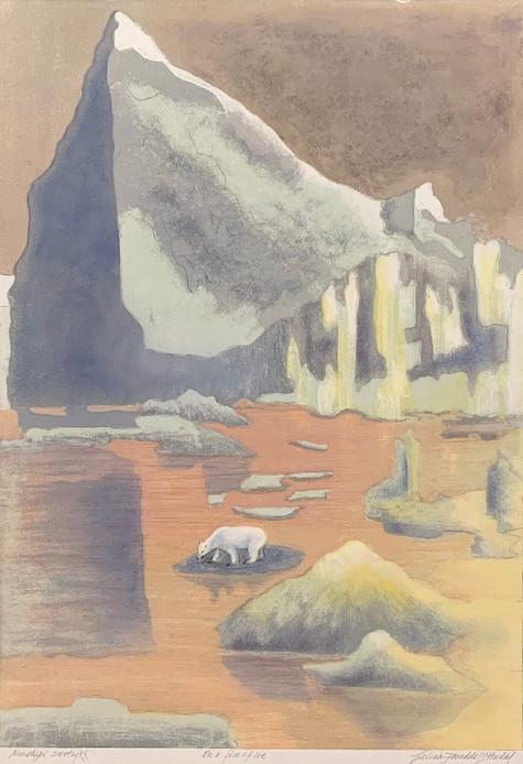 On a Floe of Ice, særtrykk