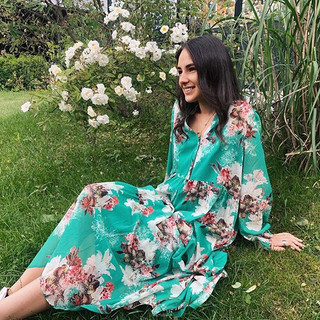 Silkedrøm fra @katrinuri 😍 #kjole #somm