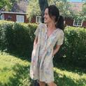 Deilig sommerkjole i lin fra @120lino ✨