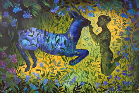 « Deep Forest» 100 x 150