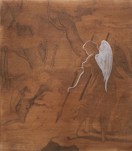 Tapt Paradis - Reddet av engelen 32x28 c