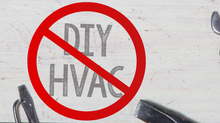 Why DIY HVAC is a Bad Idea?
