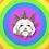 Thumbnail: Cannabis Crowned Pup soft enamel pin