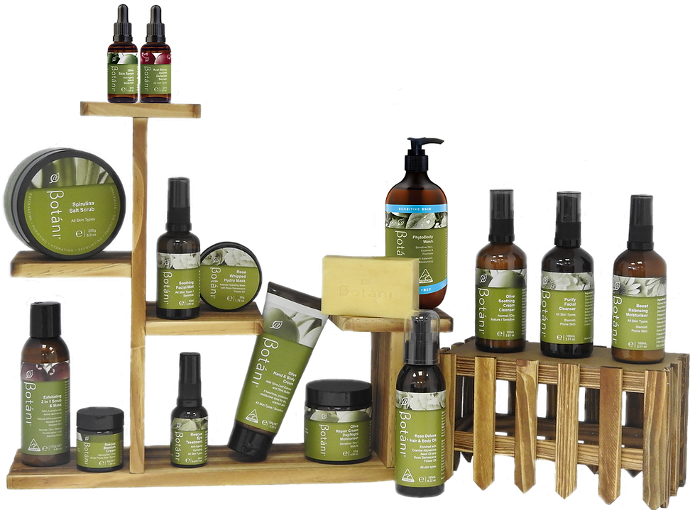 Botani Skincare Products