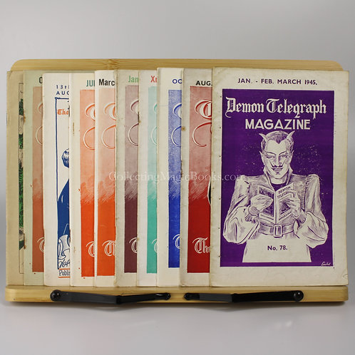 The Demon Telegraph, 10 issues, 1945-46