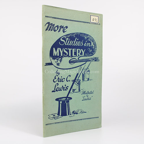 More Studies in Mystery - Eric C. Lewis