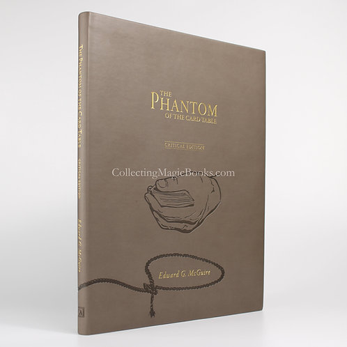 The Phantom of The Card Table (Critical Edition) - Edward G. McGuire