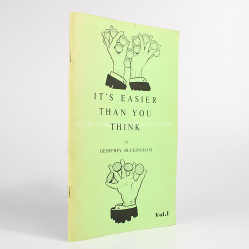 It's Easier Than You Think (Complete) - Geoffrey Buckingham