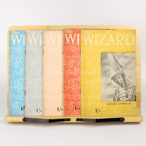 The Wizard, 5 issues from Vol. 1, 1947-48 - George Armstrong
