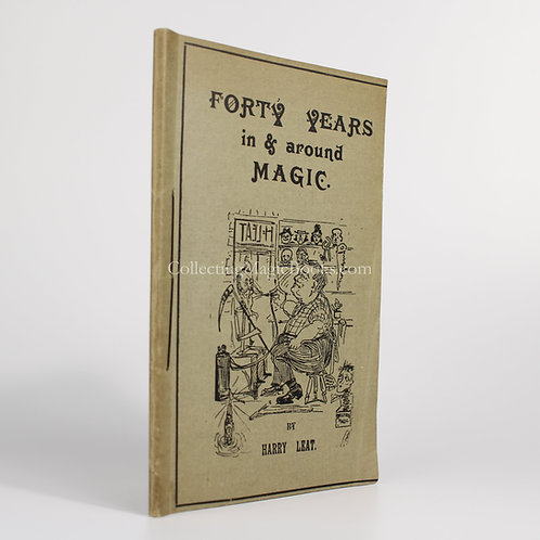 Forty Years In and Around Magic - Harry Leat