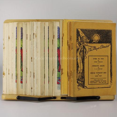 The Magic Circular, 23 issues, 1951-54
