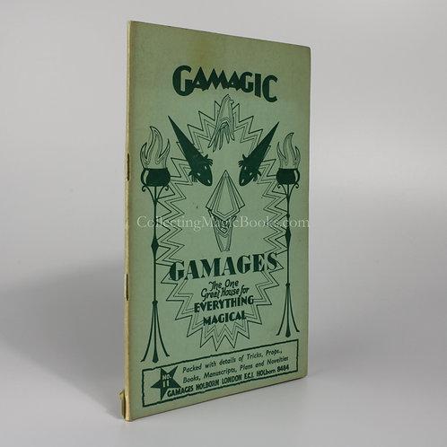 Gamagic No. 11, Gamages Magic Catalogue C.1959