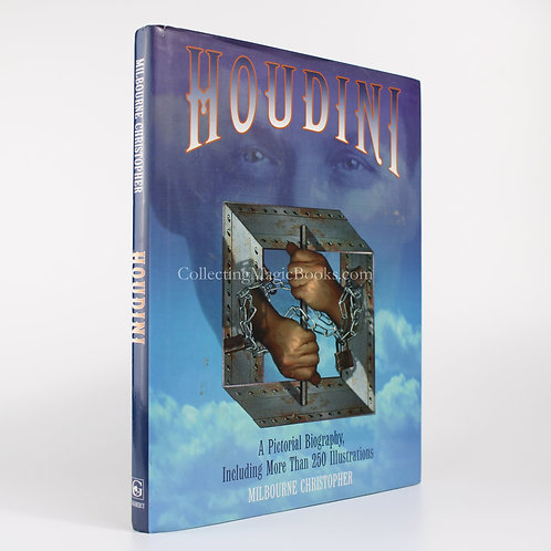 Houdini, A Pictorial Biography - Milbourne Christopher