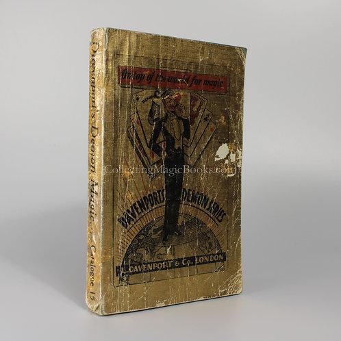 Davenport's Demon Series 1937-9 Catalogue
