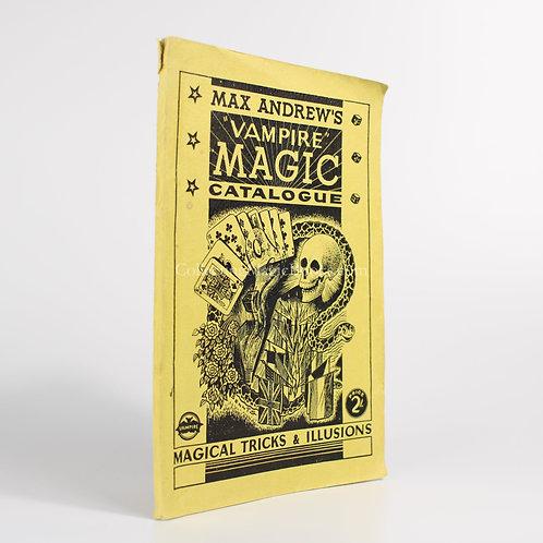 Max Andrew's Vampire Magic Catalogue No.1 (1950)
