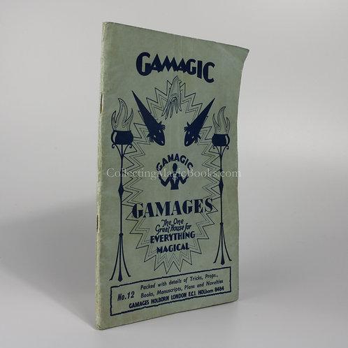 Gamagic No. 12, Gamages Catalogue C. 1960