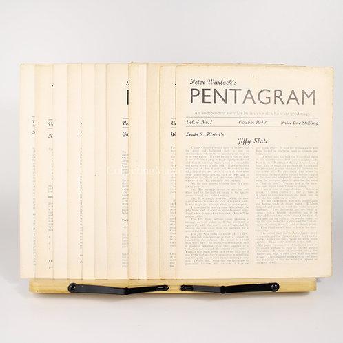 Pentagram Volume 4 (Complete) - Peter Warlock