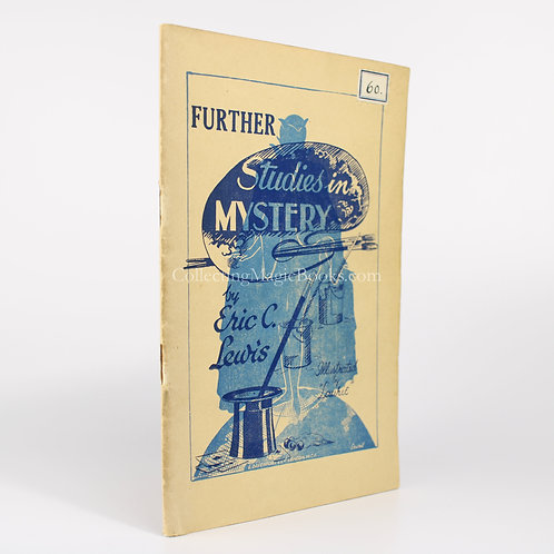 Further Studies in Mystery - Eric C. Lewis