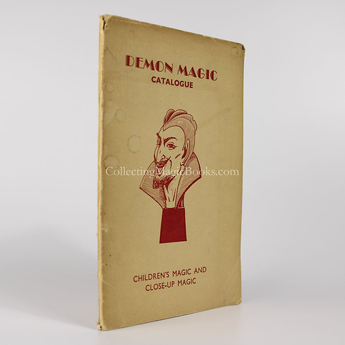 Demon Magic Catalogue, 1968. Children's Magic and Close-up Magic