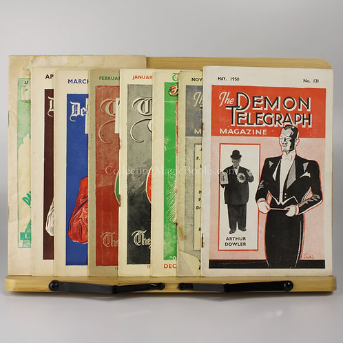The Demon Telegraph, 8 issues, 1950-64