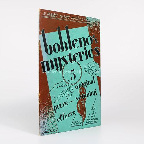 Bohleno's Mysteries - Henry Bohlen