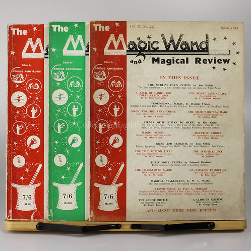 The Magic Wand, 3 issues, 1953