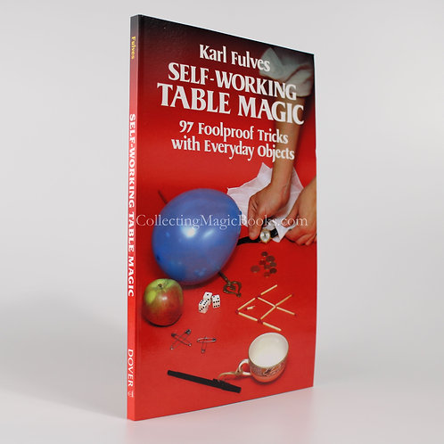 Self-Working Table Magic - Karl Fulves