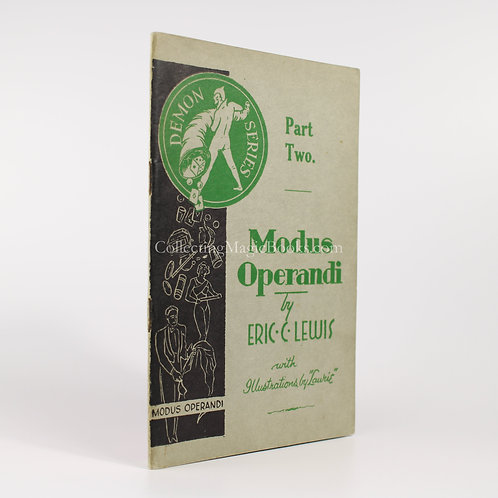Modus Operandi Part Two - Eric C. Lewis